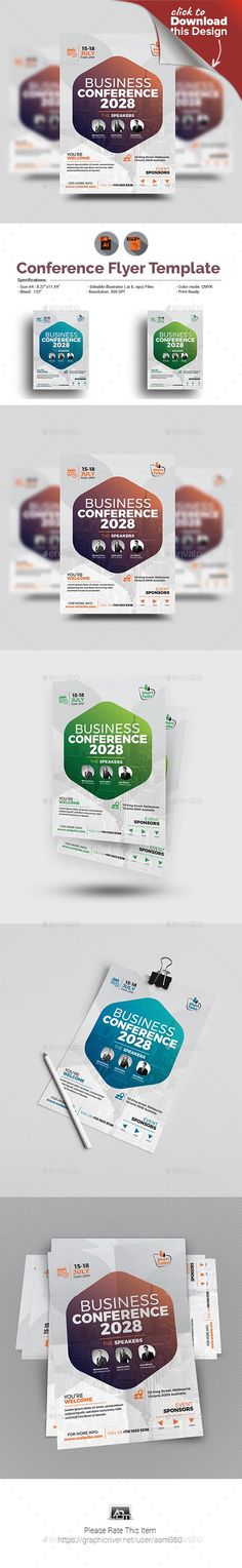 ◾ [Get Free]◬ Conference Flyer Agm Annual General Meeting Annual Program Annual Summit Business Business Conference Flyer And Poster Design, Flyer Design, Layout Design, Free Flyer Templates, Print Templates, Conference Poster, Business Flyer Templates, Business Cards, Flyer Layout
