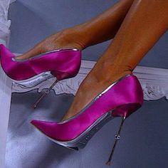 Hot Pink heels!!!!