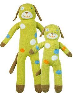 Blabla Knit Dolls: Lemonade the Dog (these are beyond cute!)
