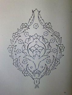 turkish tile pattern
