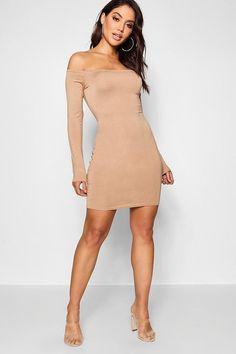 Renee Off The Shoulder Bodycon Dress