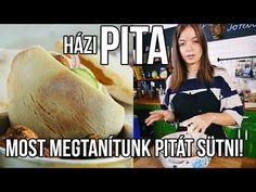 Pita, Bread Rolls, Falafel, Bread Recipes, Youtube, Tacos, Baking, Ethnic Recipes, Breads