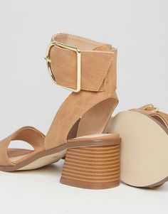 Shop the latest River Island Block Heel Buckle Sandals trends with ASOS! Free delivery and returns (Ts&Cs apply), order today! Blue Sandals, Shoes Sandals, River Island, Asos, Block Heels, Heeled Mules, Fashion Online, Footwear, Inspiration