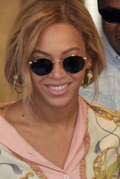 When the divine Beyoncé wears our Scarab hoop earrings