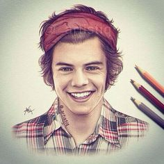 Harry Styles that's a really good drawing