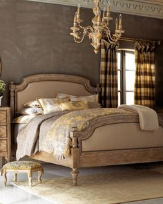 home decor & interior design - ShopStyle: Neiman Marcus Tuscany Bed, King