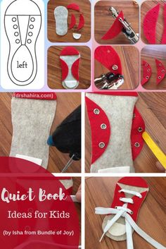 Quiet books/ Busy Books/ Felt Books + A Tutorial