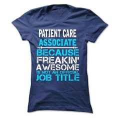 Patient Care Associate - #gift ideas #grandma gift. LIMITED TIME PRICE => https://www.sunfrog.com/No-Category/Patient-Care-Associate-59029690-Guys.html?60505
