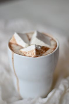 Homemade Hot Chocolate and Marshmallows