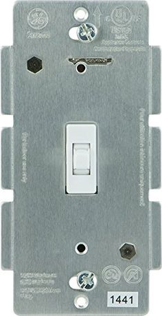 GE 12728 Wireless Lighting Control AddOn Toggle Style Switch White for GE ZWave ZigBee and Bluetooth Connected Home Products ** To view further for this item, visit the image link.