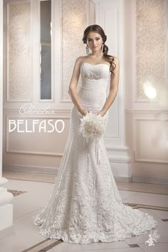 Belfaso 2015 Wedding Dresses offers you a wide range of wedding gowns that will make your wedding day wonderful and memorable. 2015 Wedding Dresses, Wedding Gowns, Wedding Day, Beautiful Gowns, Beautiful Bride, Flowy Gown, Just In Case, One Shoulder Wedding Dress, White Dress