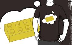 Yellow Brick T-shirt by Bubble-Tees.com by Bubble-Tees