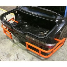 The tubed rear end on Chris Forsberg's 5 year old drift missile that they recently rebuilt at home at MA Motorsports. Amazing looks bash bars. Love everything about this build