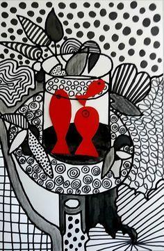 254_Noir et blanc_Du graphisme avec Matisse (29)
