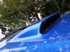 Subaru Impreza WRX STi, hood