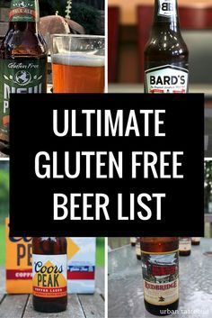Gluten Free Beer List and Guide