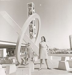 """The Sundial at Polo Park by artist James S Willer, """"A precise time machine, clean and geometric in form, pure elements unsupported into thin air"""" Simple Projects, Sundial, Continents, 1960s, Past, Nostalgia, Canada, Kid, Memories"""