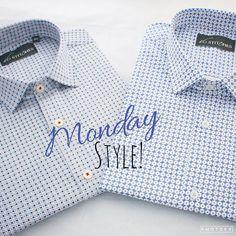 Gentlemen here's to a stylish start to the week!  #menswear #mensstyle #mensfashion #style #fashion #trend #formal #formals #monday #inspiration #classy #classic #classymen #dapper #dappermen #prints #stylists #lookoftheday #gentlemen #work #formalwear #luxury #bespoke #shirts