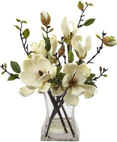Magnolia Arrangement with Vase