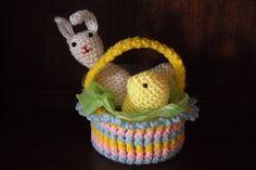 Ravelry: Easter Candy Basket pattern by Cylinda Mathews