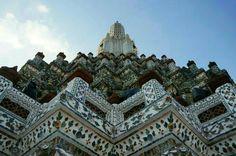 Wat Arun Rajwararam (The Temple of Dawn) in พระนคร, กรุงเทพมหานคร