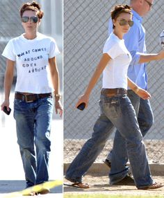 Victoria Beckham kicks it in jeans and Flips! Get a pair of your own from the Flips Store!