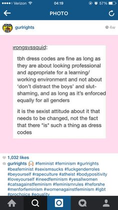 """I wish i would have looked harder for things like this when in school!!! I even wrote an essay about dresscodes and why what i am wearing should not be considered a """"distraction"""""""