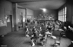 Old White School, class room.  Jack Corn Photography