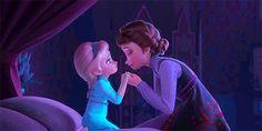 Little Elsa and Iduna Frozen II