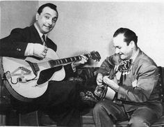 Django and his brother who played the guitar, Joseph.