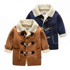 suede coat $40.00 Suede Coat, Fur Coat, Winter Collection, 2015 Winter, Boys, Sweaters, Jackets, Fashion, Down Jackets