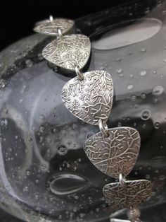 Wrist Reef by SundaraStudios on Etsy Mixed Metal Jewelry, Metal Clay Jewelry, Metal Bracelets, Copper Jewelry, Polymer Clay Jewelry, Bangles, Jewelry Crafts, Jewelry Art, Jewelry Design