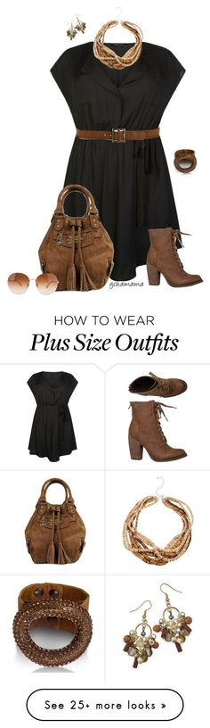 """Naturally I can- plus size"" by gchamama on Polyvore featuring Rebels, Paige Denim, BillyTheTree and plus size dresses"