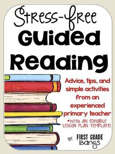 Teach Your Child to Read - Make guided reading simple and effective with these quick tips! - Give Your Child a Head Start, and.Pave the Way for a Bright, Successful Future. Guided Reading Lesson Plans, Guided Reading Activities, Guided Reading Groups, Reading Resources, Kindergarten Reading, Teaching Reading, Reading Strategies, Kindergarten Blogs, Reading Comprehension