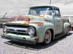 56 Ford Hauler - Great project Truck