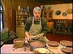 How to Throw a Set of Dinner Plates with Bill van Gilder - From DIY's, 'Throwing Clay' - YouTube