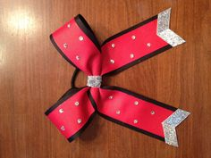 """2"""" cheer bow for Emily"""