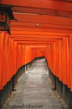 Fushimi Inari Taisha - Kyoto - onetwofrida.com