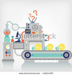 Factory, Engineering, Vectory Illustration - 131397143 : Shutterstock