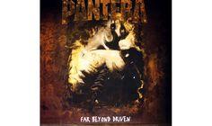 Pantera, 'Far Beyond Driven' (1994). Schwer zu erkennen, oder? Ein Bohrer bahnt sich seinen Weg durch einen Hintern. Wurde ausgetauscht mit: Ein Bohrer bahnt sich seinen Weg durch eine Stirn.