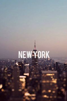 Concrete jungle where dreams are made of  ❤️