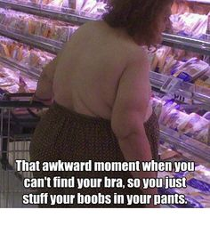 I don't say this very often, but Good Lord My Eyes! (Husband: And she's looking at chicken breasts.)