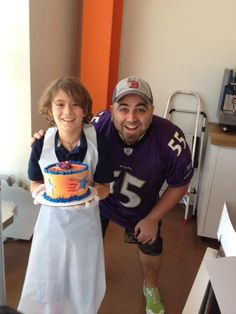 Duff Goldman himself with a young #cakestar