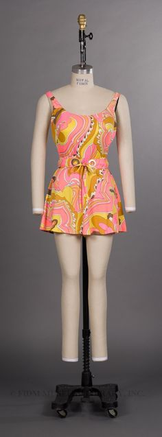 Bathing suit, c. 1965-66. From the collections of the FIDM Museum and Galleries.