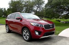 2016 Kia Sorento SX AWD V6 in Remington Red