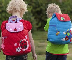 Classic Quilted Backpacks for your kiddos.  Tons of fun colors and designs! www.stephenjosephgifts.com