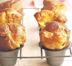 Serve Citrus popovers at your next brunch party with ground cardamom and zest from oranges and lemons.