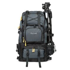 ac1d79cc56cb05 Graphy Camera Backpack Bag Hiking Travel Backpack for All DSLR SLR Cameras  Laptops Tripods and Accessories