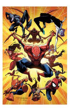 Spiderverse by KharyRandolph on DeviantArt