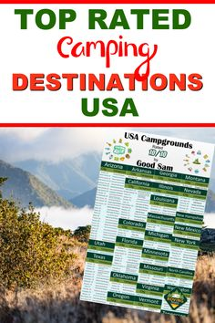 Want to know where to find the top ranked campgrounds in America? We have compiled a list of the best campsites to help you plan your RV travel destinations. We include Texas rv parks, rv campgrounds in Michigan, Utah, California, Florida and many more. Finding campgrounds to stay at can be the hardest part of RV travel, but this list will help you to easily plan your next camping vacation. #rvtraveldestinations #rvcampgrounds Mexico City, New Mexico, Rv Travel, Travel Destinations, Texas Rv Parks, Cities In North Carolina, Best Places To Camp, Rv Campgrounds, Florida City
